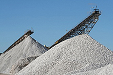 regyp recycled gypsum stockpile