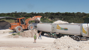 Regyp truck loading