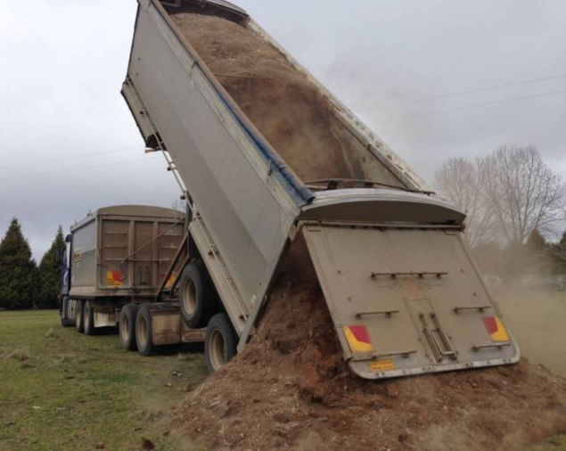 Chicken Manure Delivery