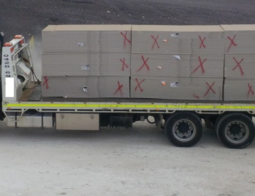 Plasterboard Waste Transport