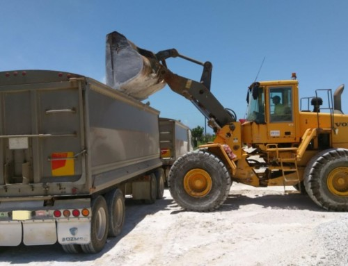 Bundy's First Load of Recycled Gypsum