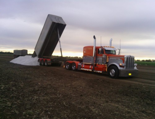 Super Ag Gypsum Load
